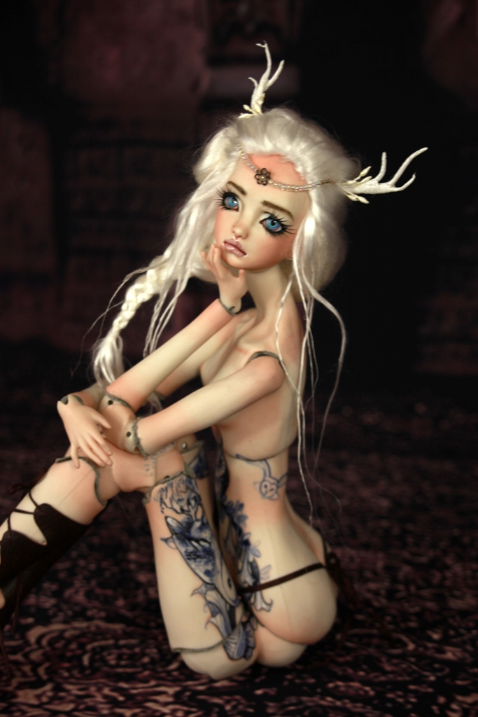 BJD Doll 1414 17 Antilope