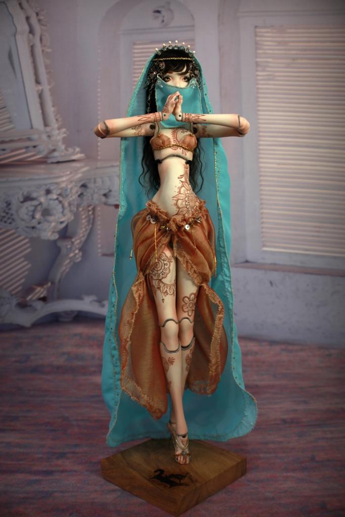 BJD Doll 1549 17 Meskhenet