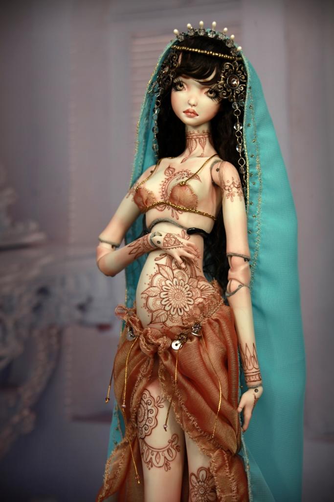 BJD Doll 1553 17 Meskhenet