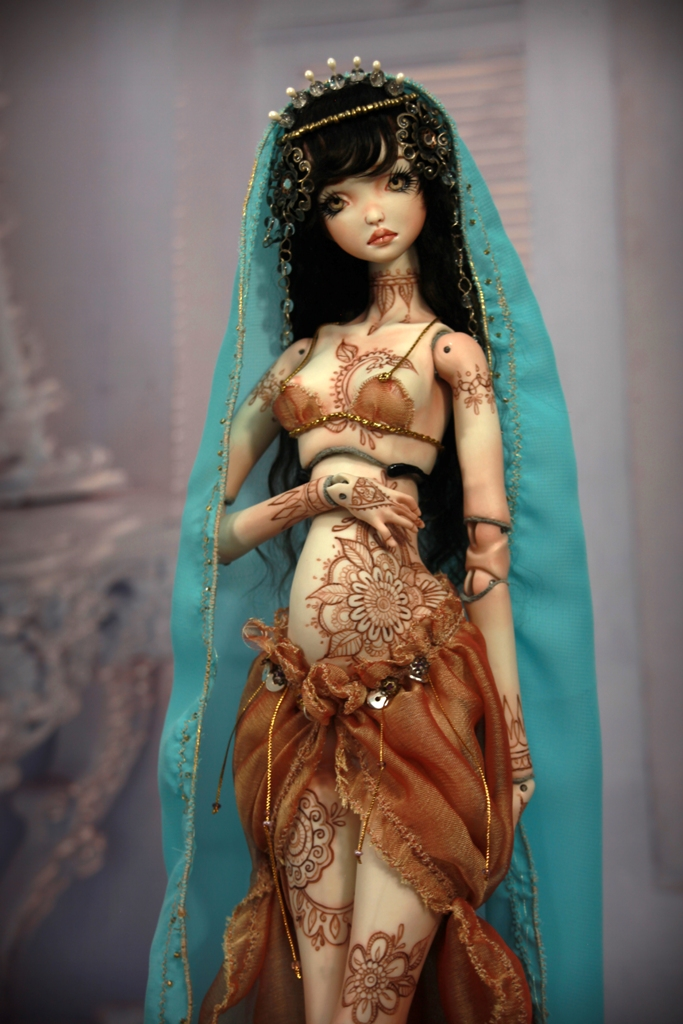 BJD Doll 1554 17 Meskhenet