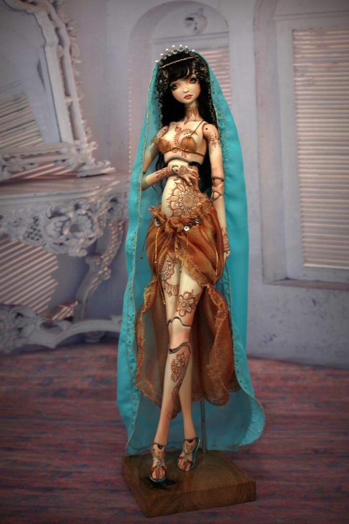 BJD Doll 1555 17 Meskhenet