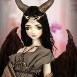 Maleficent Malefica BJD Doll