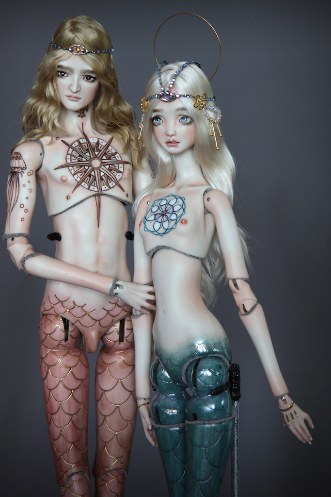 Atlas Antares IMG 0022 Souls of Atlantis , our latest Fine Art BJD Mermaid Collection