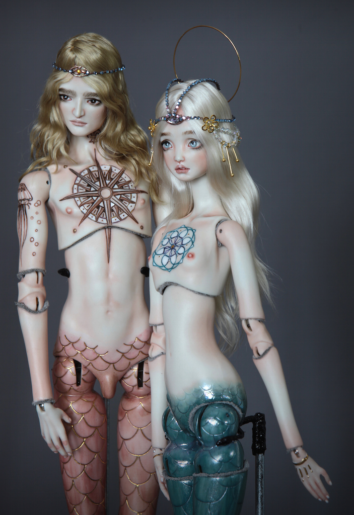 Atlas Antares IMG 0023 Souls of Atlantis , our latest Fine Art BJD Mermaid Collection