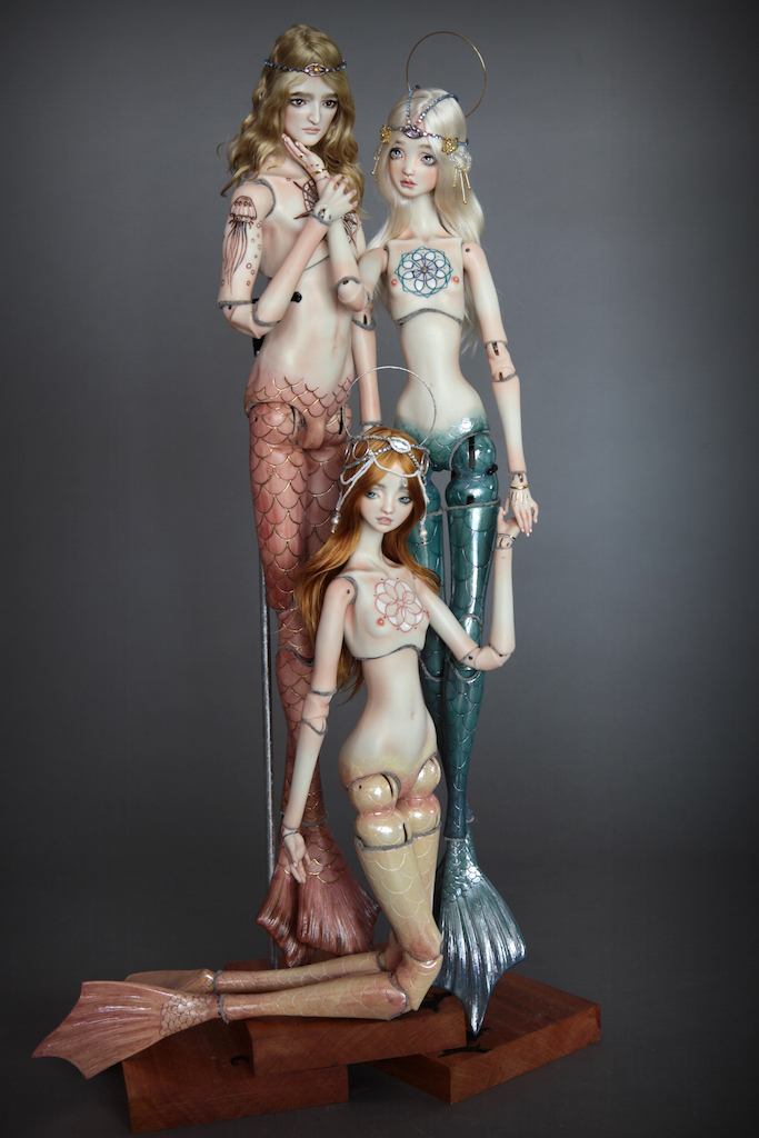 Atlas Antares IMG 0029 Souls of Atlantis , our latest Fine Art BJD Mermaid Collection