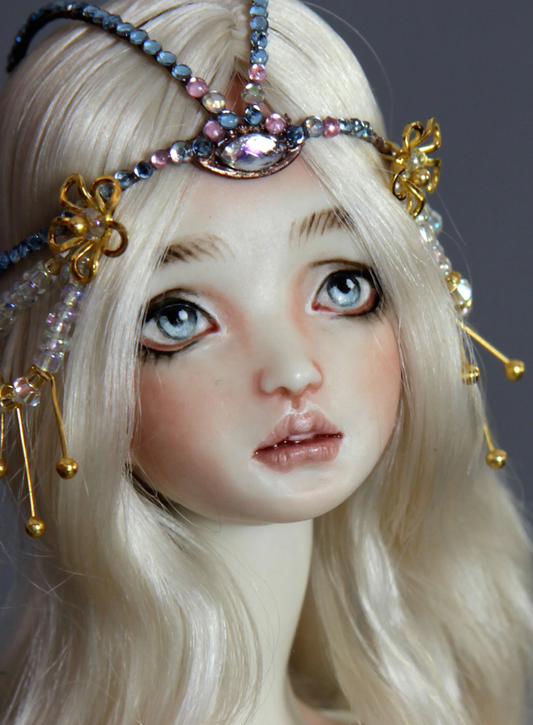 IMG 0009 Fine Art Porcelain BJD Mermaid Doll Antares