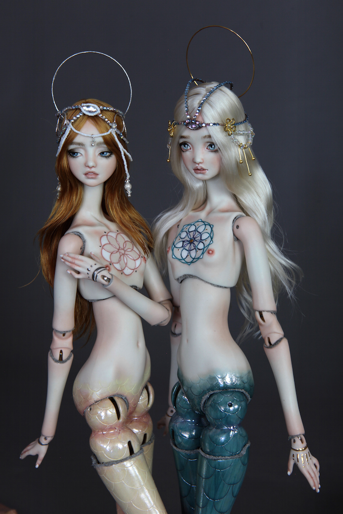 IMG 00341 Souls of Atlantis , our latest Fine Art BJD Mermaid Collection