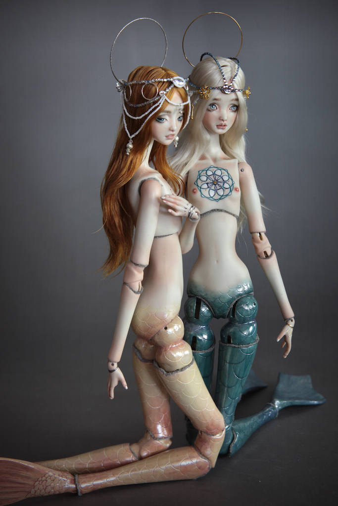 IMG 00381 Souls of Atlantis , our latest Fine Art BJD Mermaid Collection