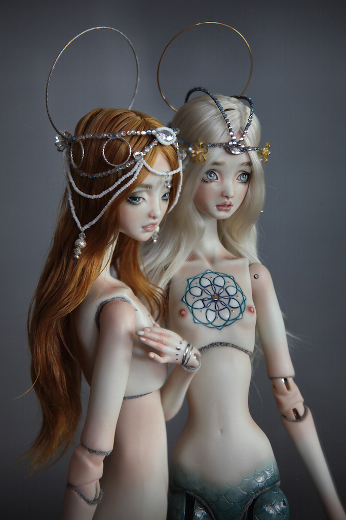 IMG 00401 Souls of Atlantis , our latest Fine Art BJD Mermaid Collection