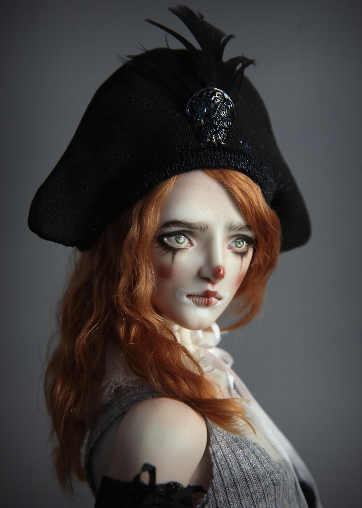 IMG 0009 Pierre, A Victorian Pierrot Clown