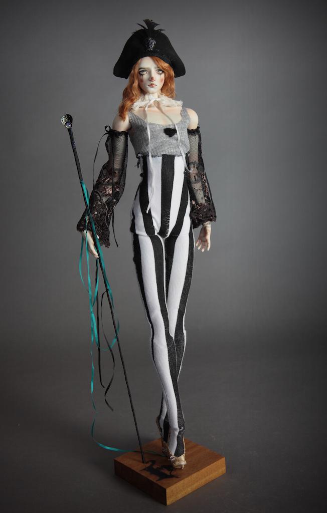 IMG 0013 Pierre, A Victorian Pierrot Clown