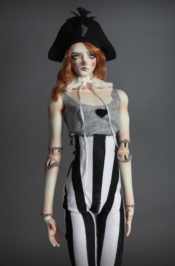 IMG 0015 Pierre, A Victorian Pierrot Clown