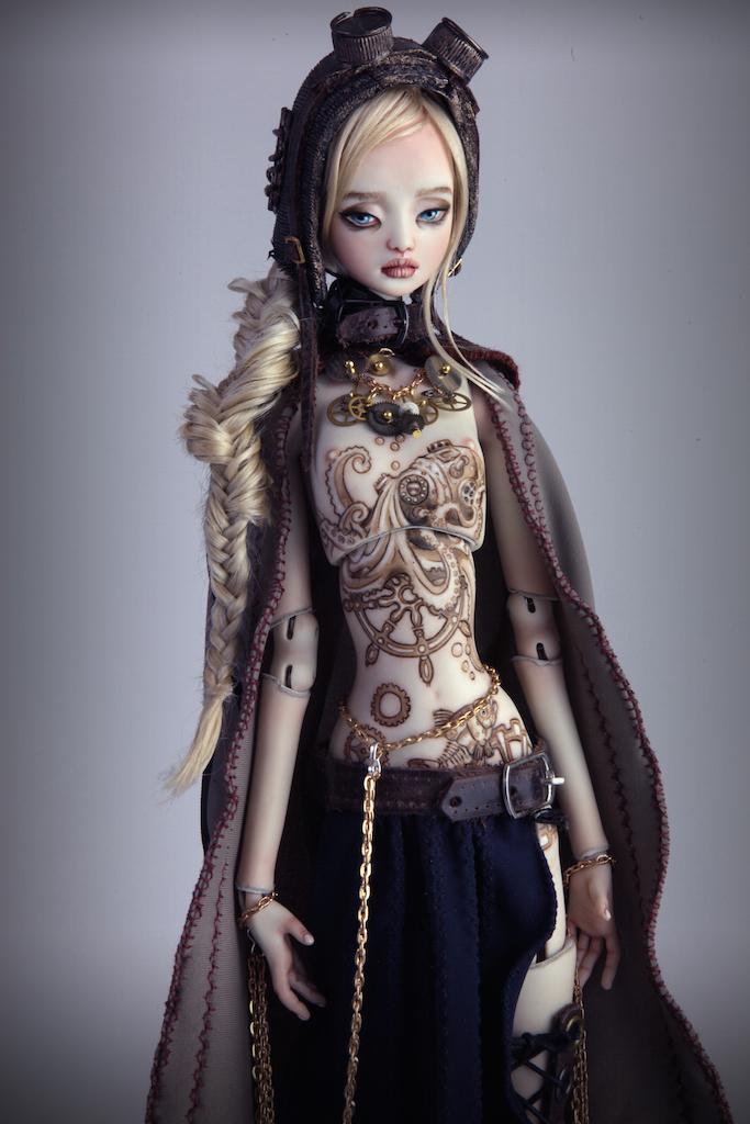 IMG 0002 15 Valentina Deep Sea Madness Steampunk Doll