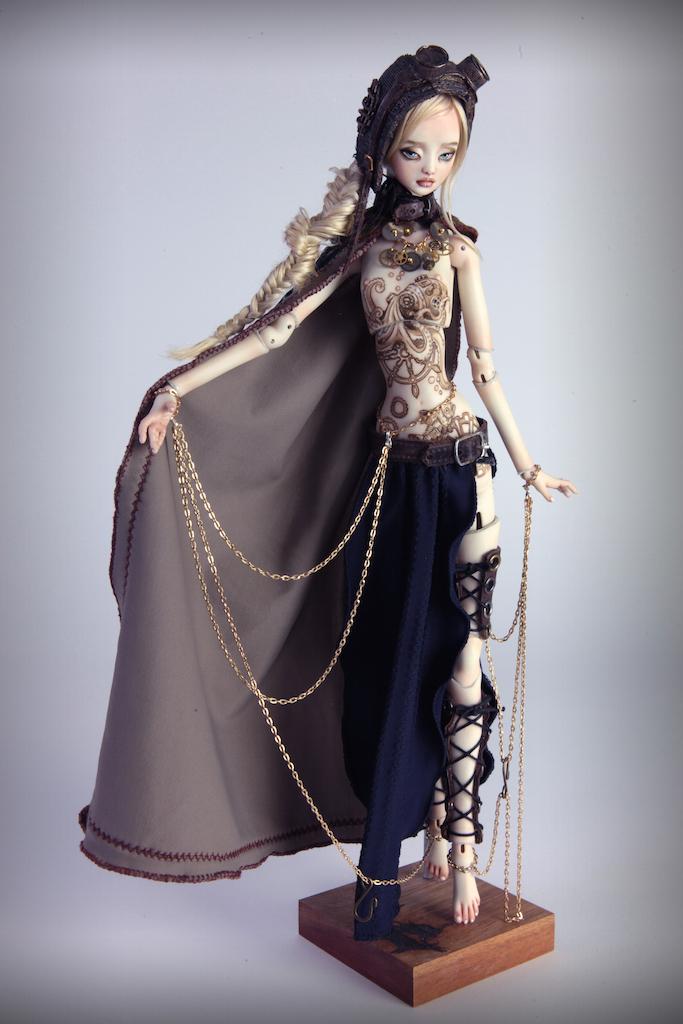 IMG 0007 15 Valentina Deep Sea Madness Steampunk Doll