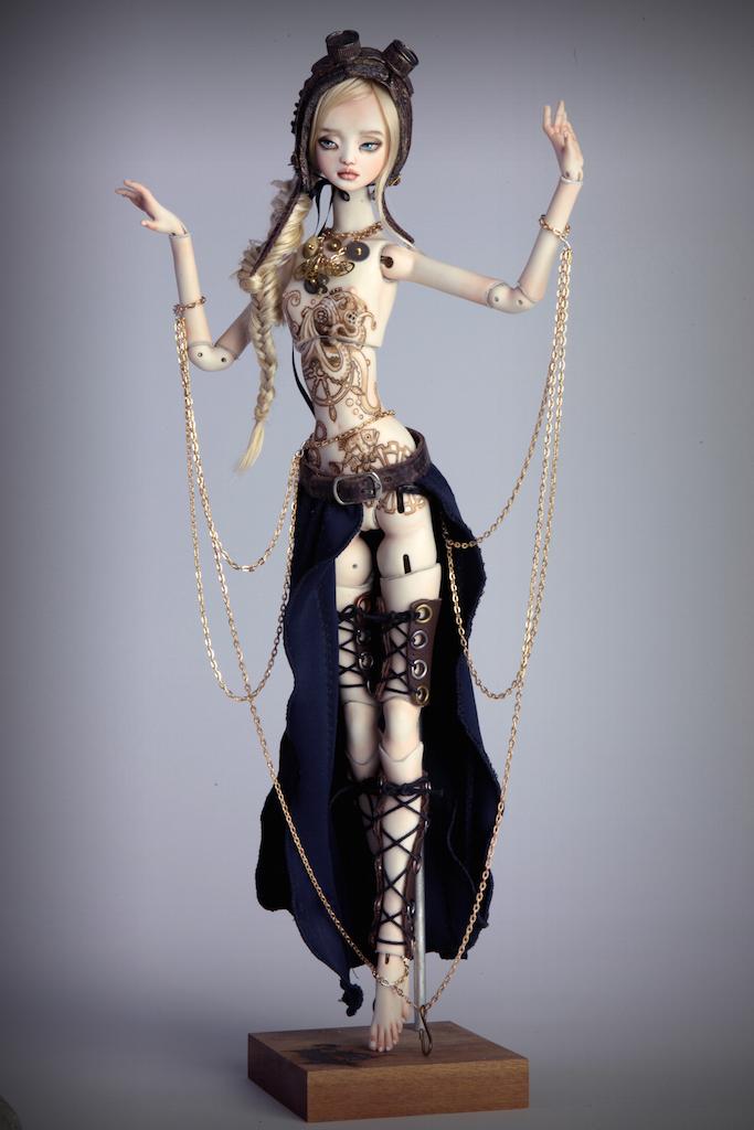 IMG 0010 15 Valentina Deep Sea Madness Steampunk Doll