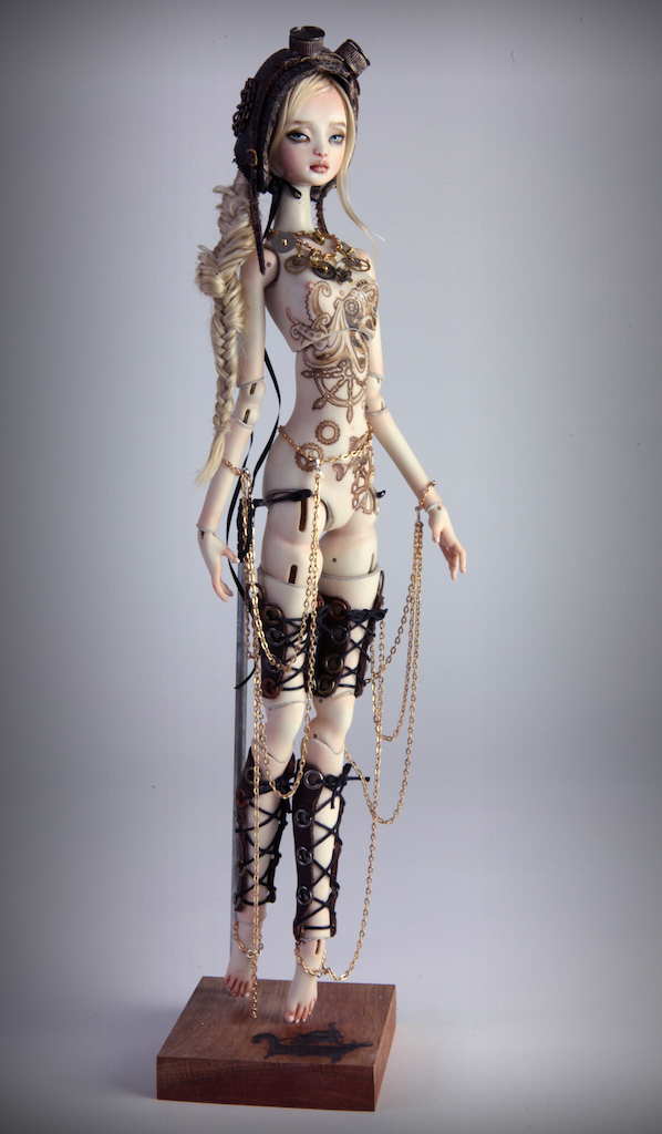 IMG 0011 15 Valentina Deep Sea Madness Steampunk Doll