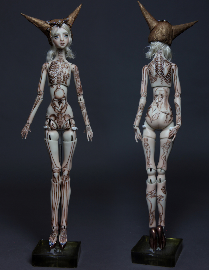 DAV2 If DaVinci was a girl Tattooed 15, new 2017 doll