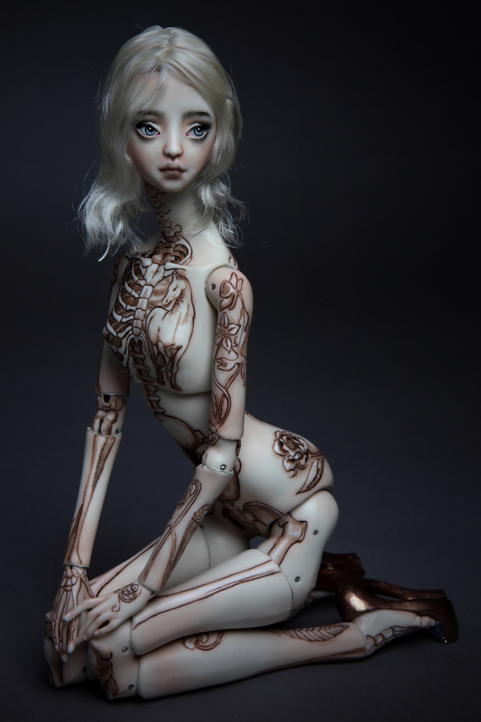 IMG 7684 If DaVinci was a girl Tattooed 15, new 2017 doll