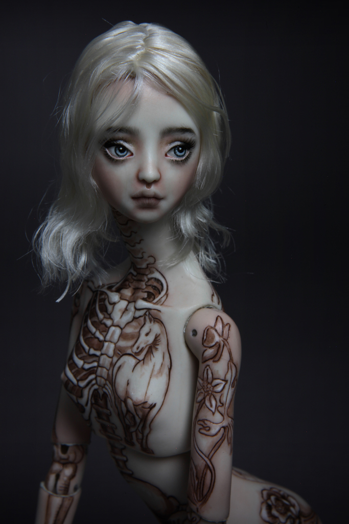 IMG 7686 If DaVinci was a girl Tattooed 15, new 2017 doll