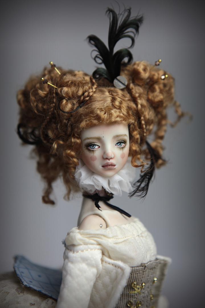 IMG 8495 15 Victorian Carousel Ova Porcelain BJD Doll