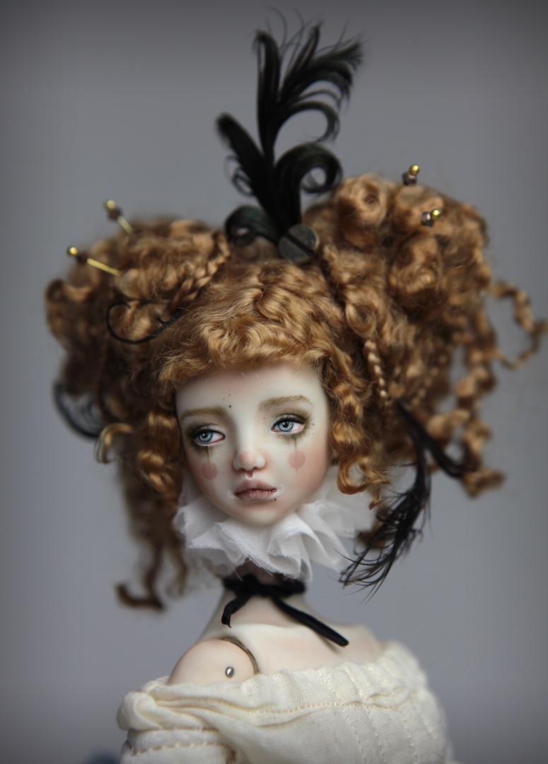 IMG 8500 15 Victorian Carousel Ova Porcelain BJD Doll