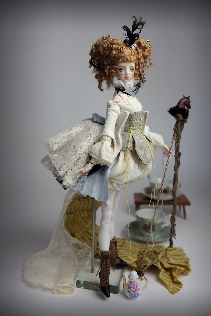 IMG 8502 15 Victorian Carousel Ova Porcelain BJD Doll