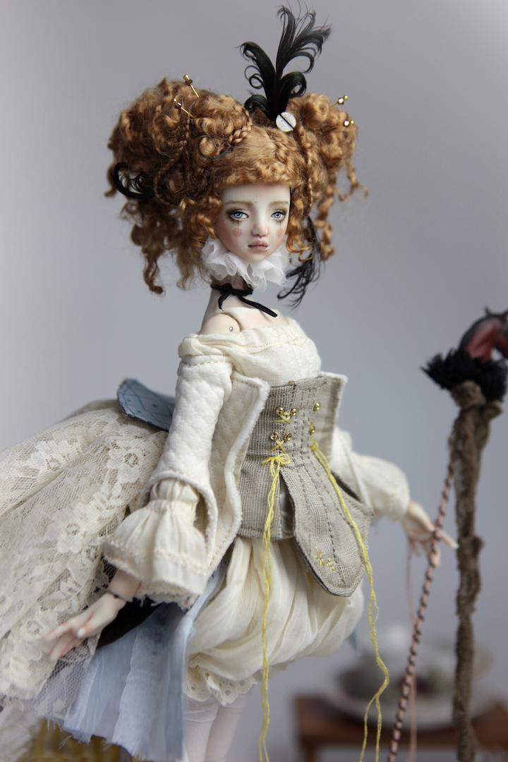 IMG 8503 15 Victorian Carousel Ova Porcelain BJD Doll