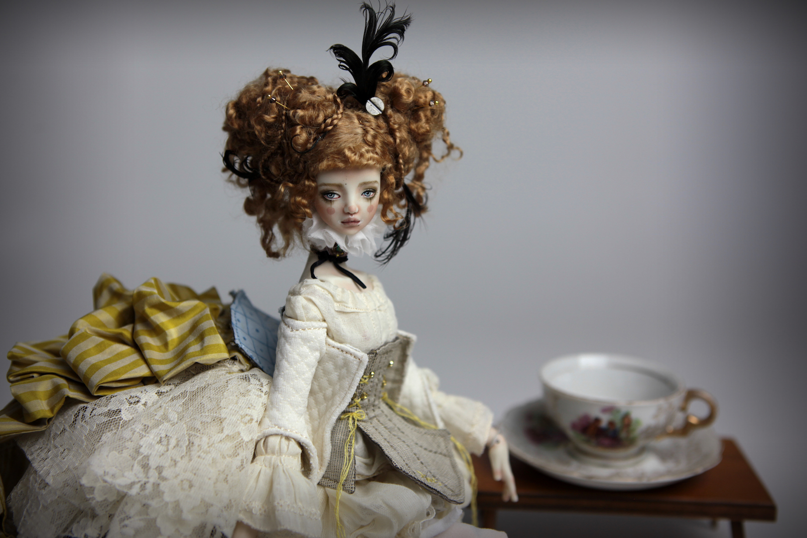 IMG 8508 15 Victorian Carousel Ova Porcelain BJD Doll