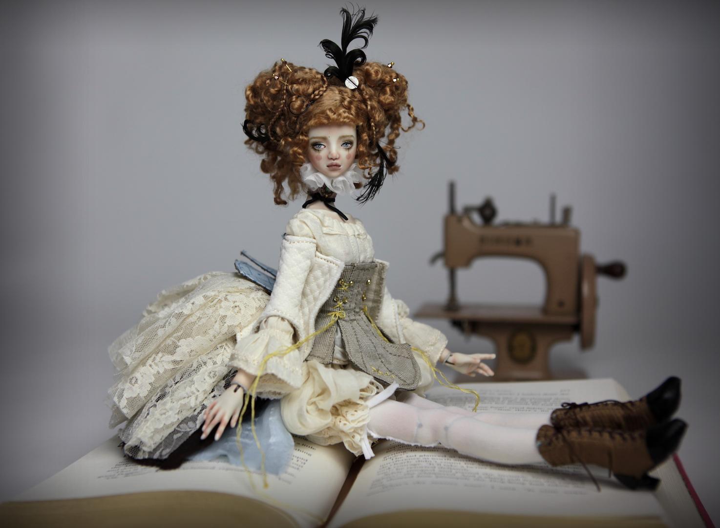 IMG 8511 15 Victorian Carousel Ova Porcelain BJD Doll