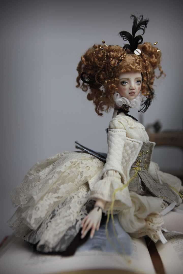 IMG 8512 15 Victorian Carousel Ova Porcelain BJD Doll