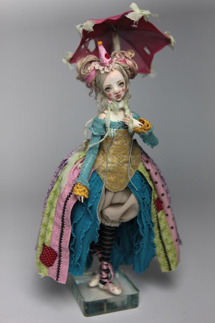 IMG 8553 15 Victorian Roadside Circus Clown Porcelain BJD Maya
