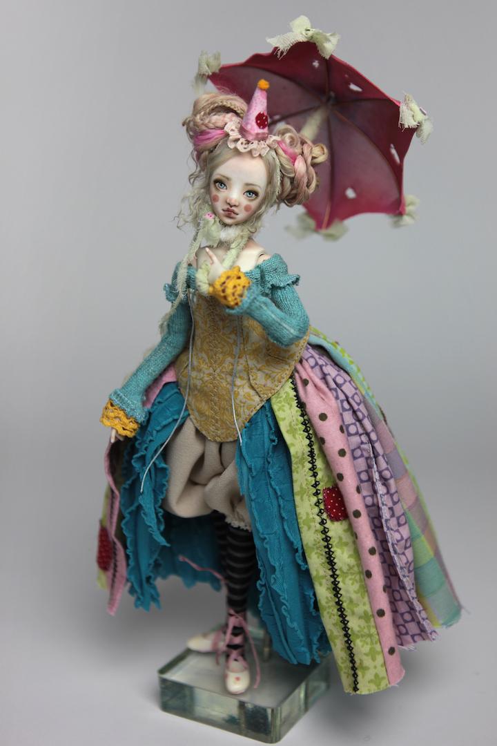 IMG 8555 15 Victorian Roadside Circus Clown Porcelain BJD Maya