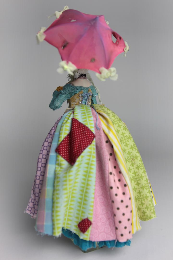 IMG 8556 15 Victorian Roadside Circus Clown Porcelain BJD Maya