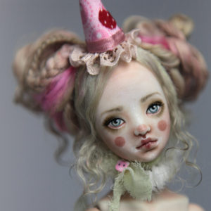BJD Dolls | Roadside Circus Clown Maya Porcelain BJD Doll by Forgotten Hearts