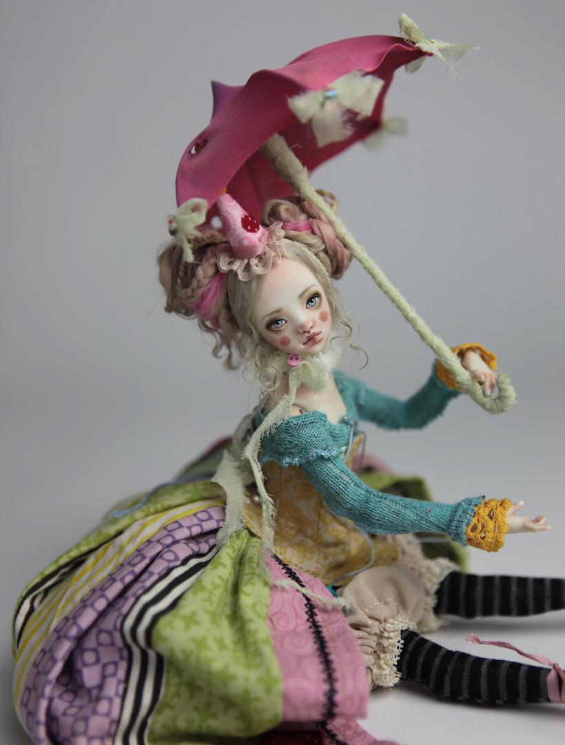 IMG 8572 15 Victorian Roadside Circus Clown Porcelain BJD Maya