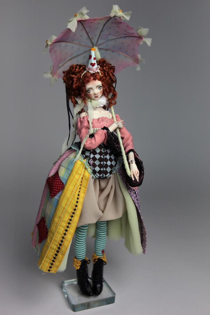 IMG 8575 15 Victorian Roadside Circus BJD Clown Agata
