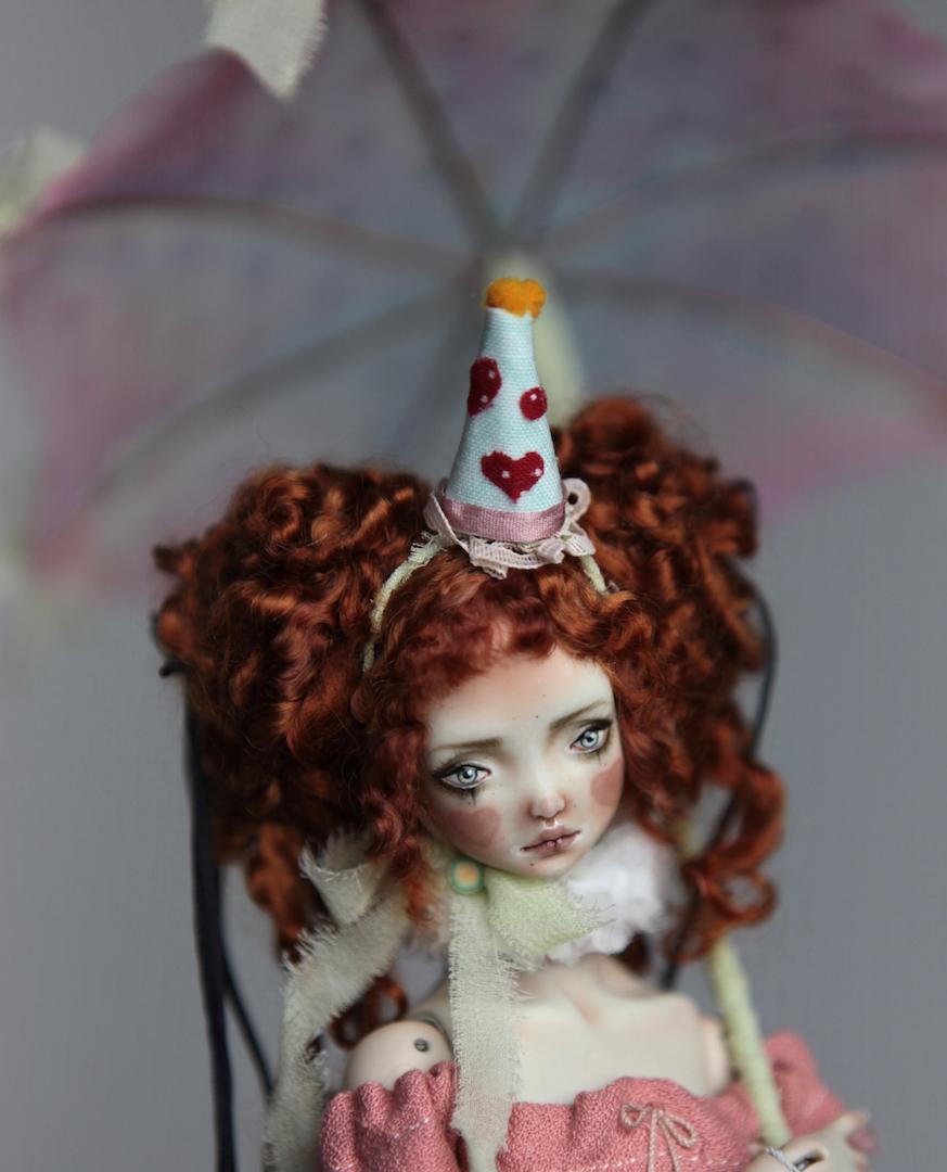 IMG 8576 15 Victorian Roadside Circus BJD Clown Agata