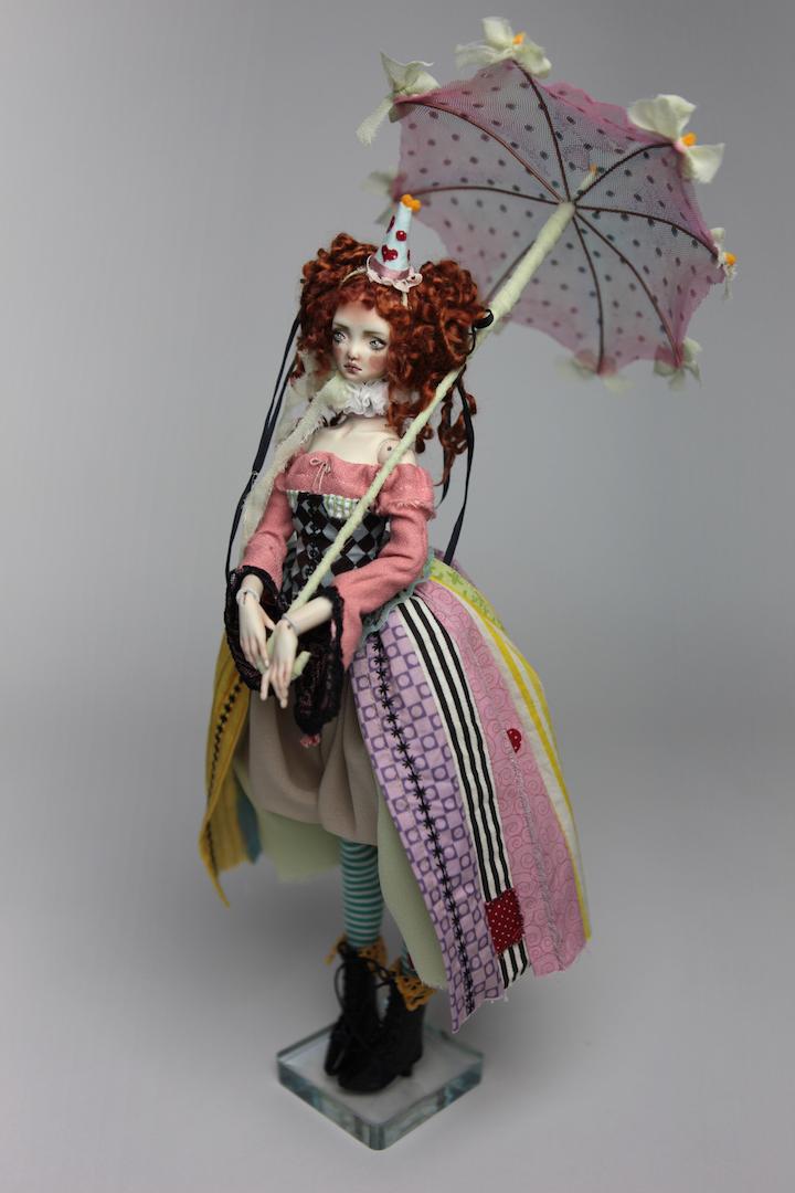 IMG 8577 15 Victorian Roadside Circus BJD Clown Agata