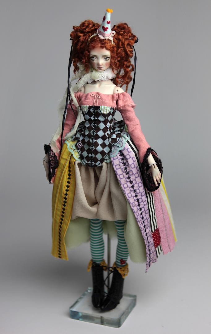 IMG 8578 15 Victorian Roadside Circus BJD Clown Agata