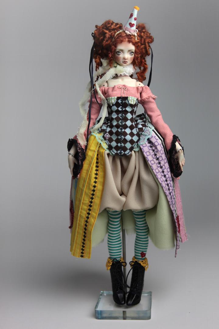 IMG 8579 15 Victorian Roadside Circus BJD Clown Agata
