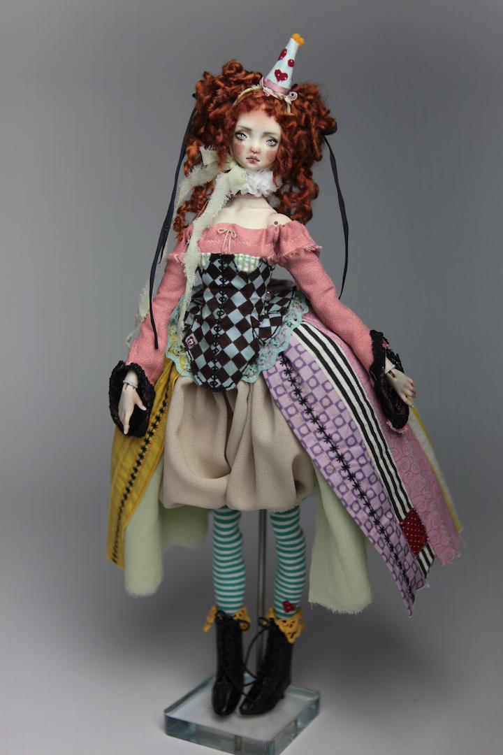 IMG 8580 15 Victorian Roadside Circus BJD Clown Agata