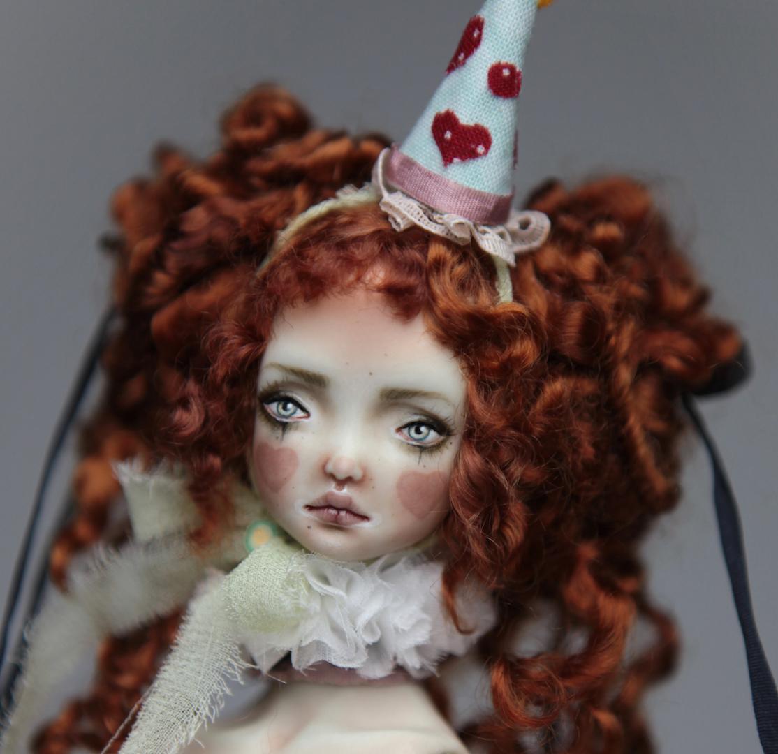 IMG 8581 15 Victorian Roadside Circus BJD Clown Agata