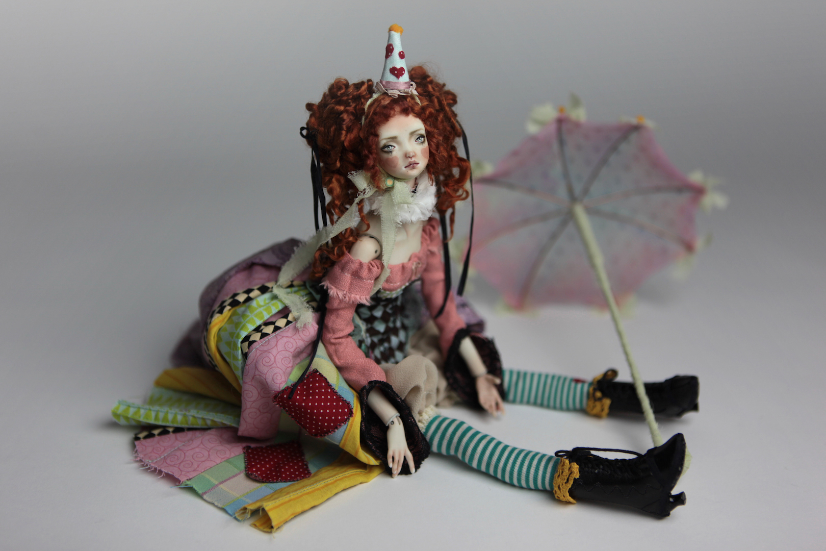 IMG 8582 15 Victorian Roadside Circus BJD Clown Agata