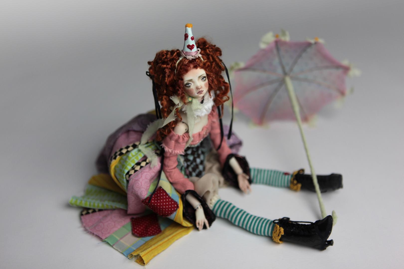 IMG 8583 15 Victorian Roadside Circus BJD Clown Agata