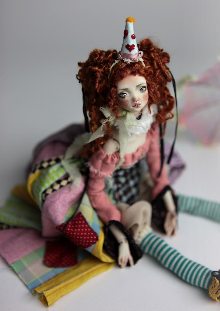 IMG 8584 15 Victorian Roadside Circus BJD Clown Agata