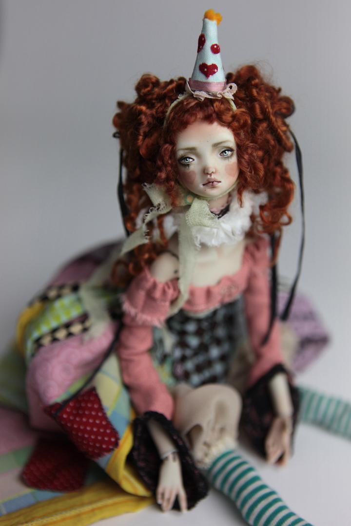 IMG 8585 15 Victorian Roadside Circus BJD Clown Agata