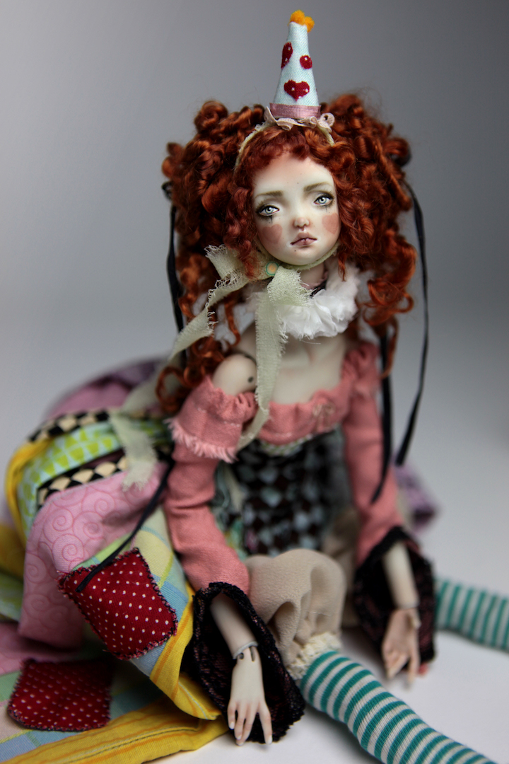 IMG 8588 15 Victorian Roadside Circus BJD Clown Agata
