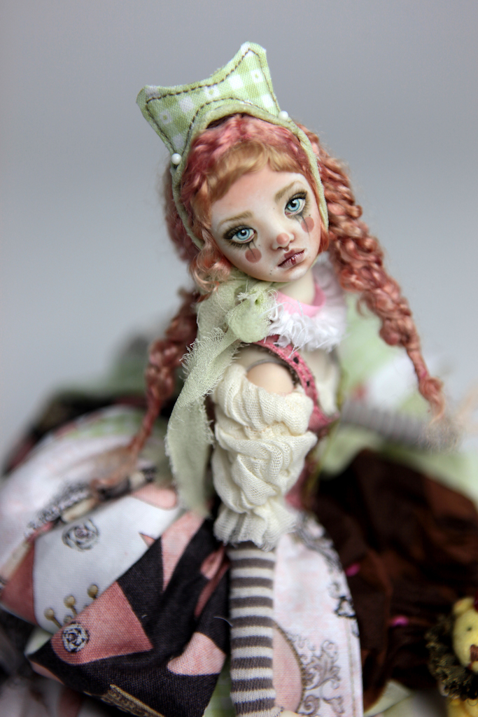 Porcelain BJD Dolls Victorian Strawberry54 Pierrot, Maya and Rea our latest Porcelain BJD Dolls