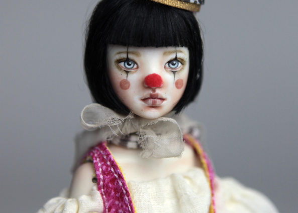 Custom BJD Doll Ball Jointed Doll Maya 12 593x423 Porcelain BJD Dolls | Forgotten Hearts Dolls