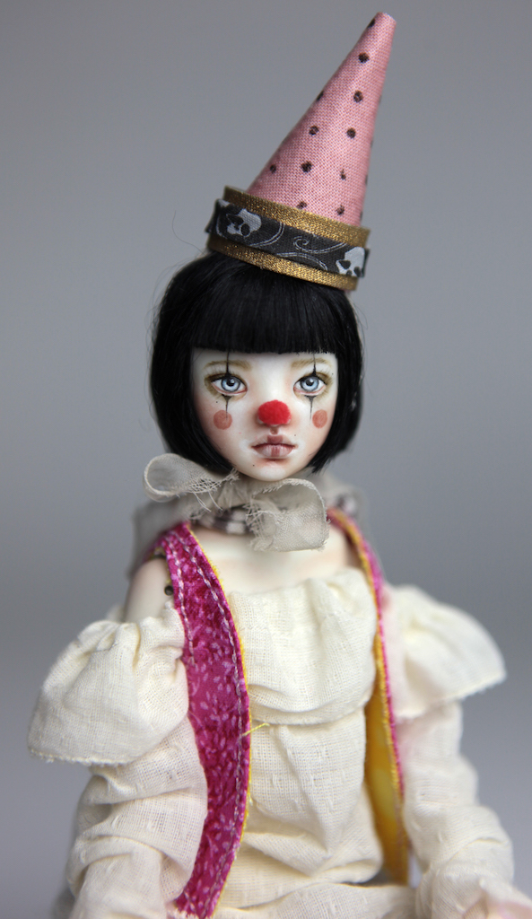 Porcelain BJD Doll - Mad Hatter Maya by Forgotten Hearts